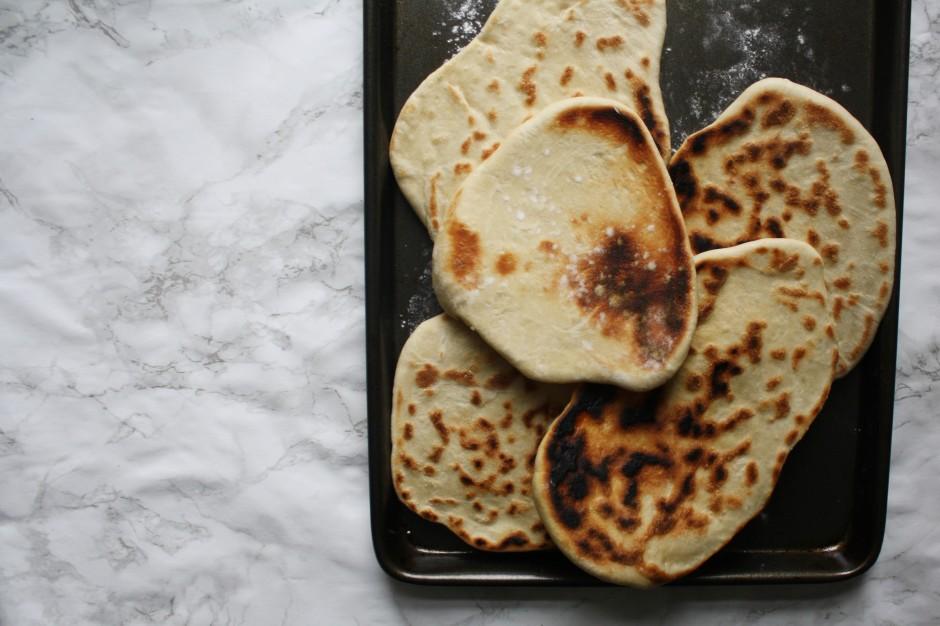 Tomato, ricotta and salami flatbread wish to dish recipe (2)